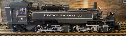 20882 Mallet Dampflok Uintah Railway Co. mit Sound