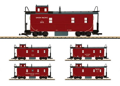 LGB 42793 Caboose undecorated