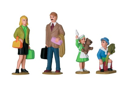 LGB 53004 Figuren-Set Familie